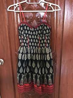 Band of Gypsies Bustier Dress
