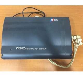 WS824(10D) Digital PBX System