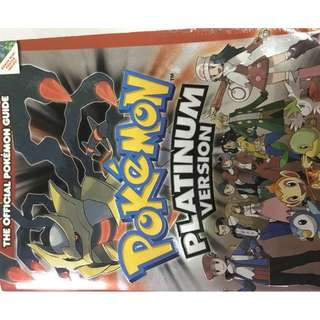 Pokemon Platinum Official Guide (with Pokedex)
