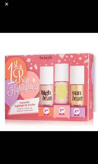 Benefit 1st prize highlighters