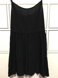 Black Sundress with Cut-out Back (American Eagle - small)