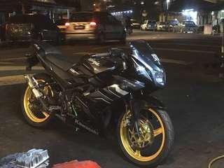 Kawasaki 150rr krr150 150rr rr150 ninja 150