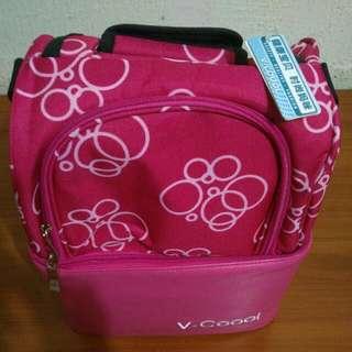 Cooler bag n ice brick
