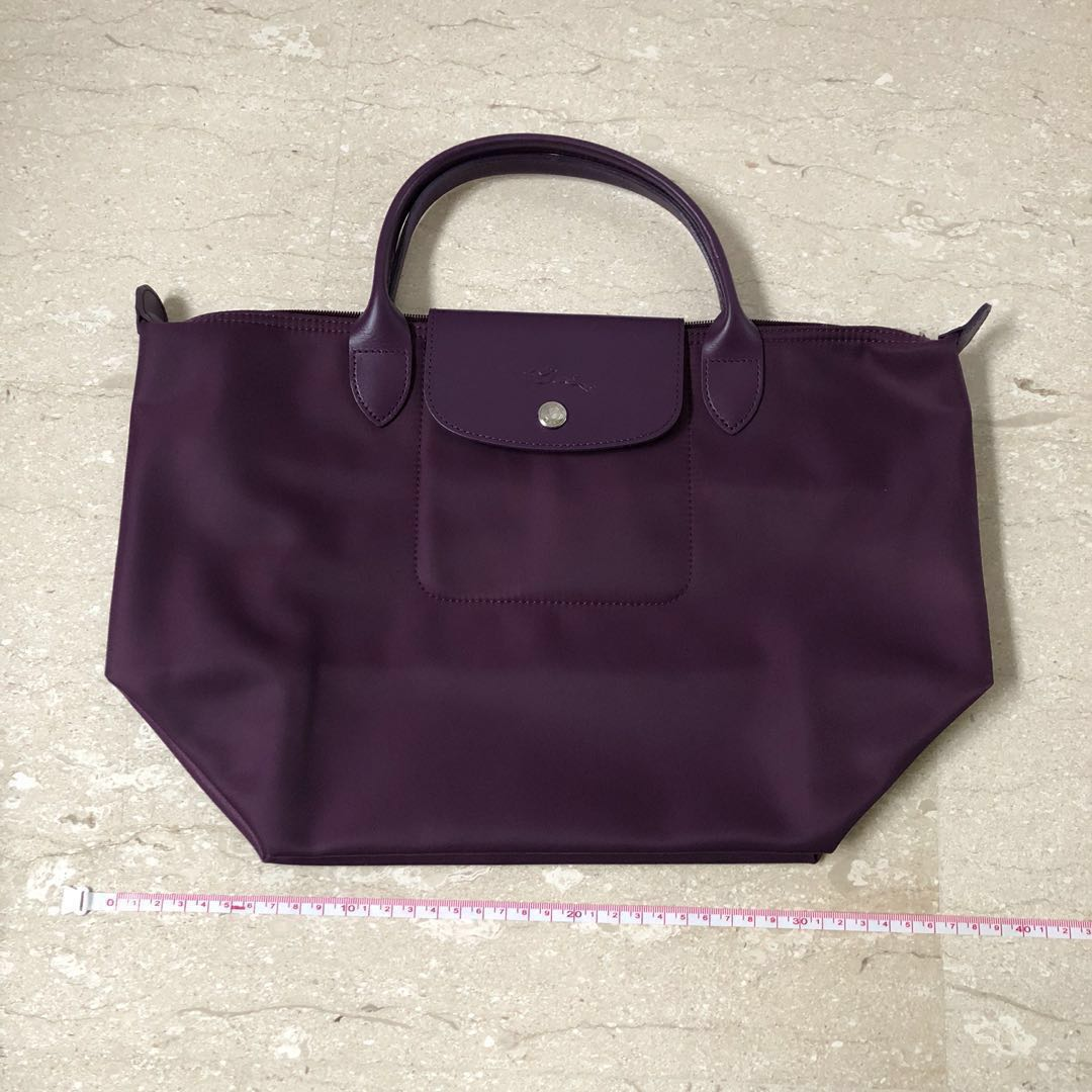 152a76a521913 100% Authentic Longchamp Bag purple bag