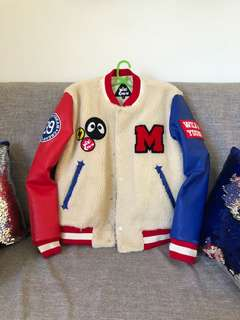 Bomber x Varsity Jacket