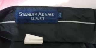 Celana Kerja Stanley Adams uk 33