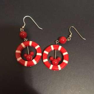 米奇Earrings