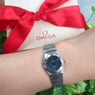 Authentic Omega Constellation Mini Ladies