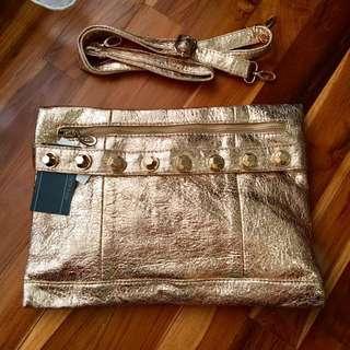 Clutch / Sling Bag No Brand Rose Gold