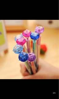 鑽石原子筆