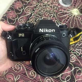 Nikon FG Vintage SLR Camera