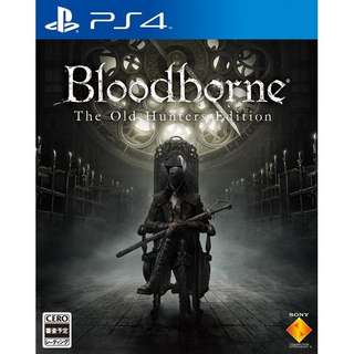 Bloodborne Old Hunters Edition PS4