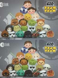 Limited Edition brand new LATEST design Disney Tsum Tsum cum Star Wars ezlink Card For $12.