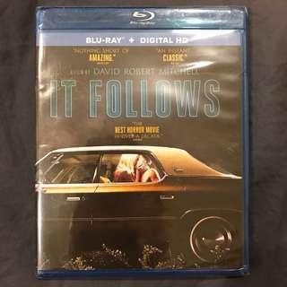IT FOLLOWS Blu-ray + UV Code US-Import Bluray Brand New
