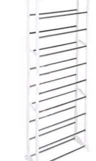 10 tier shoe rack (DIY)