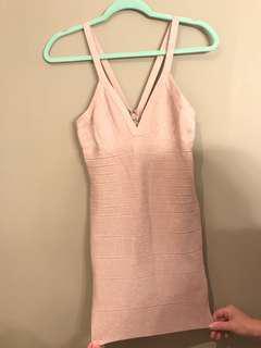 Bebe Evening Bodycon Dress