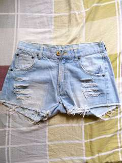 Pre-Loved Ragged Shorts
