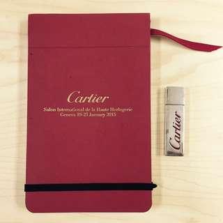 全新 CARTIER Note pad + 8G USB 記事小簿