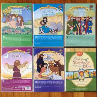 Kids Biblical Stories DVD