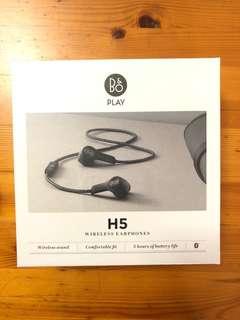 B&O H5 wireless earphone