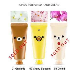 <BN> A'PIEU Perfumed Hand Cream (Rilakkuma Edition)