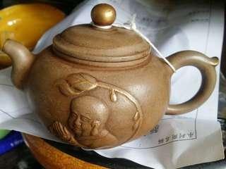 蔣容款紫砂茶壺