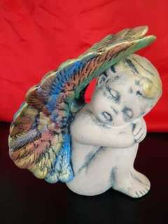 Colourful Wings Ceramics Angel