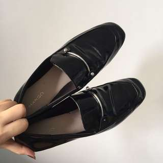 Mango loafers