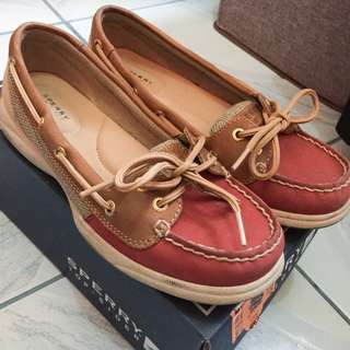 Sperry Vintage Tan Topsider