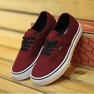 Vans authentic port royal maroon