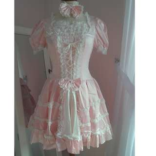 Japanese Lolita Costume (Pink) [PRE-LOVED]