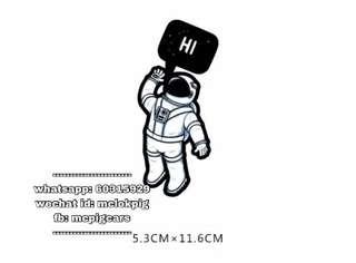 太空人 汽車反光防水貼