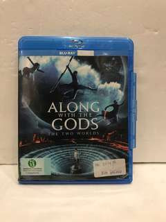 ALONG WITH THE GODS THE TWO WORLDS BLU RAY
