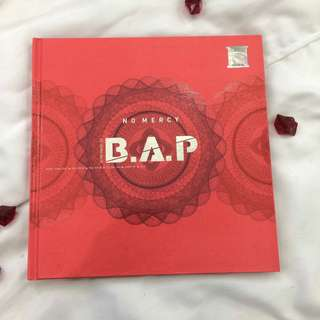 B.A.P NO MERCY ALBUM