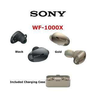 Sony WF-1000X 真無線耳機 藍牙降噪耳機