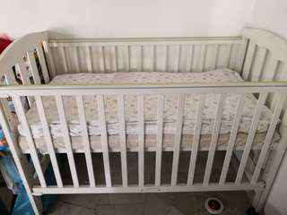 Baby Cot baby Crib with mattress