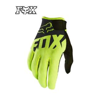 INSTOCK L & XL ONLY ★Fox High Quality Motorcycle Gloves ★ E-SCOOTER Motocross Scrambler Off Road Dirt Bike ★BLACK ★ New arrivals  ★
