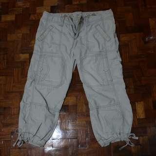 Hollister Beige khaki hiking pants
