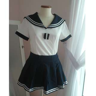 Japanese Schoolgirl Outfit (Blue)
