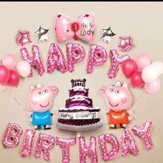 生日派對百日宴氣球佈置