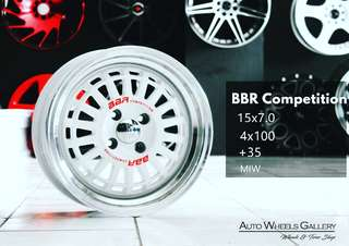 BBR RING 15X7 HOLE 4X100 ET38