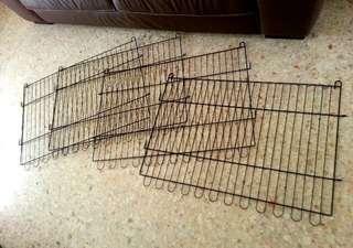 Dog playpen fence brand new black