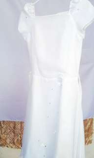 Doxology white dress outfit