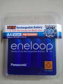 AA Panasonic rechargeable battery