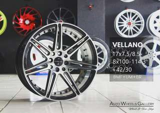 VELG RACING RING 17