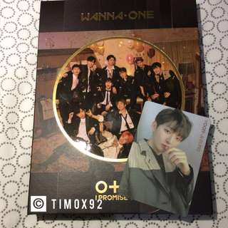 WTS WANNA ONE IPU ALBUM - NIGHT VER [Album & PC only]