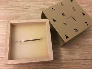 日本925純銀 珍珠手鍊 pearl match bracelet silver