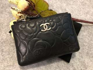 Chanel 山茶花 Coin Bag/ Key Bag