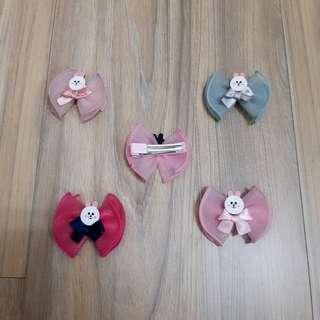 兔兔蝴蝶結髮飾【單售】