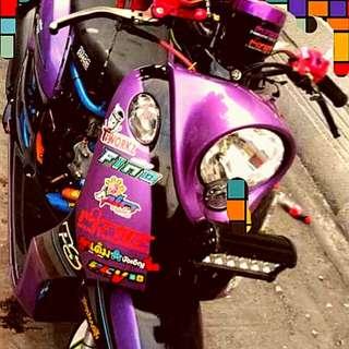 Original Yamaha fino 2010-2012 not convert. Thai look